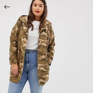NWT camo jacket